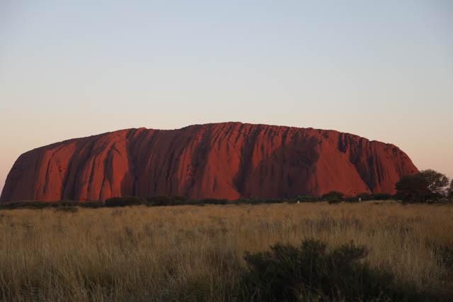 Von Alice Springs zum Uluru